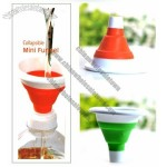 Mini Folding Collapsible Silicone Funnel