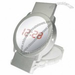 Mini Folding Mirror Clock