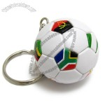 Mini Football Keyring With National Flags Printing