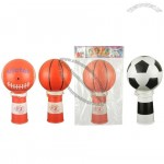 Mini Horn with Soccer/Basketball/Football Shaped