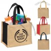Mini Jute Gift Tote Bag