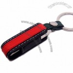 Mini Metal USB Pen Drive With Leather Pouch