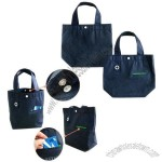 Mini Nonwoven Lunch Bags with a Plastic Button Closure