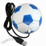 Mini Optical Mouse in Football Shape