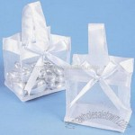 Mini Organza Tote Favor Bags