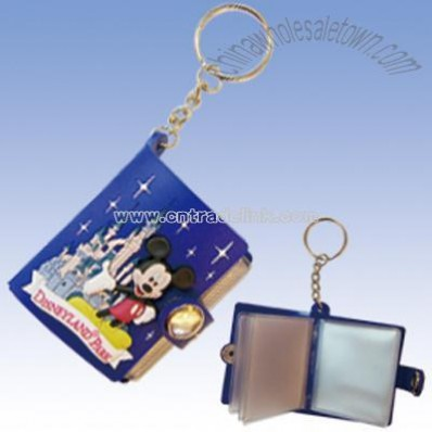 Mini PVC Album Key Chain