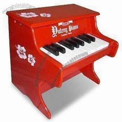 Mini Piano Toy, Comes in Red and White Color