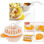 Mini Plastic Fat Free Microwave Potato Chip Maker with Slicer