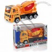 Mini Plastic Friction Toy Cars