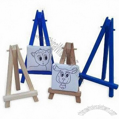 Mini Plastic and Wooden Easels for Kids