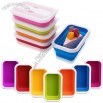 Mini Portable Foldable Silicone Lunch Box