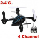 Mini Quadcopter 2.4G 4-Axis 4CH RC Helicopter Flying Saucer Aircraft the Same as UFO