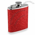 Mini Red Razzle Dazzle Hip Flask