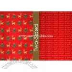 Mini Reindeer Reversible Wrapping Paper