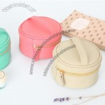 Mini Round Jewelry Pouch