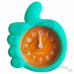Mini Silicone Quartz Clock with Water-resistant