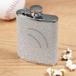 Mini Silver Razzle Dazzle Hip Flask