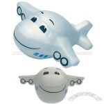 Mini Smiley Air Plane Stress Reliever Balls