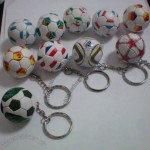Mini Soccer Key Chain