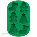 Mini Stocking / Gingerbread Boy / Tree Silicone Bakeware