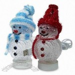 Mini USB Snowman Light