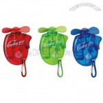 Mini Water Spray Fan with Carabiner
