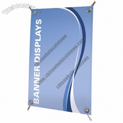 Mini X-Banner Display with Grommets w/Custom Graphic