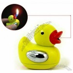 Mini Yellow Duck Style Cigar Cigarette Refillable Butane Gas Flame Lighter