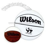 Mini autograph basketball.