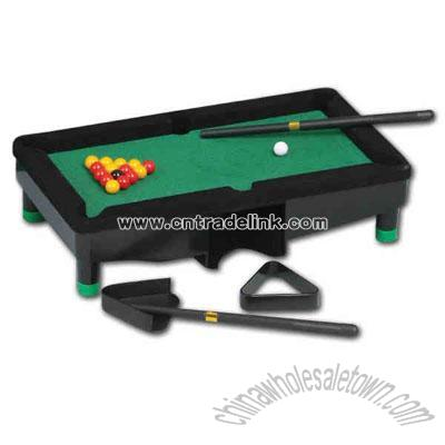 Mini Pool Billiard Table Executive Travel Game Set Executive Game - Mini billiards table set