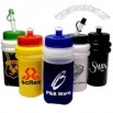 Mini sports bottle with straw