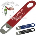 Mini vinyl wrapped bar style bottle opener