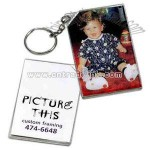 Miniature photo frame key tag