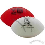 Miniature vinyl re-inflatable football