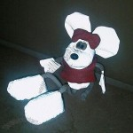 Minnie Reflective Soft Toy