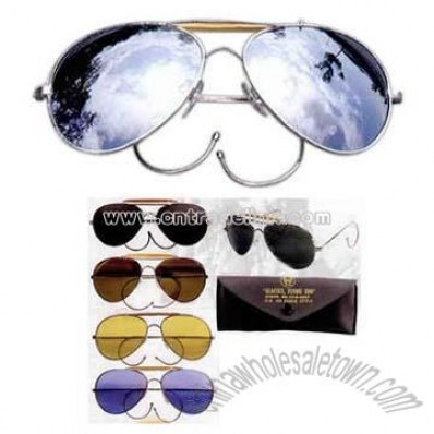 Mirror Air Force Style Sunglasses