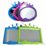 Mirror with Imperial Crown Plastic Frame