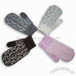 Mixed Yarn Jacquard Magic Gloves