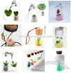 Mobile Phone Lanyard Key Chain-Mini Plant
