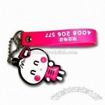 Mobile Phone Novelty Strap with Cartoon Design
