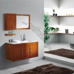 Modern Bathroom Cabinet with Drawer and Soft Closing Hinges