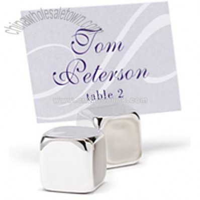 Modern Cube Place Card Holders