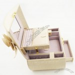 Modern PU Leather Trinket Jewellery Box