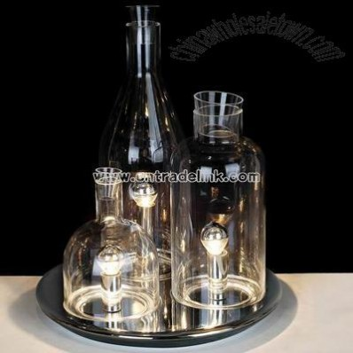 Modern Winebottle Table Lamp
