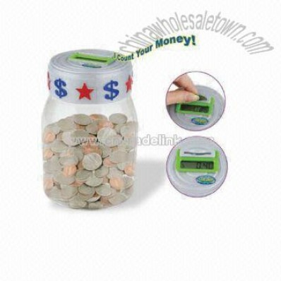 Money Box for Coin with LCD Display