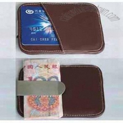 Money Clip with Card Case