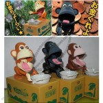 Monkey Automated Steal Piggy Coin Bank Kid's Gift