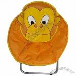 Monkey Design Kids Saucer Moon Chair