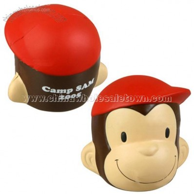 Monkey Face Stress Ball