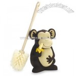 Monkeying Around Toilet Brush